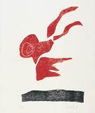 Holzschnitte zu Gedichten von Paul Celan 1977, Auflage: 50, Papierformat: 63 x 53 cm