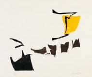 Holzschnitte zu Gedichten von Paul Celan 1977, Auflage: 50, Papierformat: 53 x 63 cm