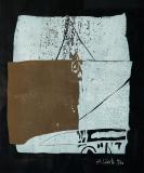 Holzschnitt 1972, Auflage: 30, Papierformat: 63 x 53 cm
